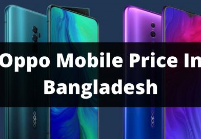 Oppo Mobile Price In Bangladesh