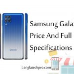 Samsung Galaxy m62 Price And Full Specifications