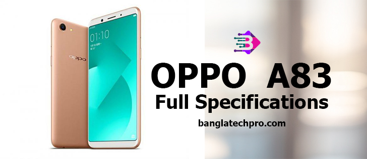 oppo a83 full specifications